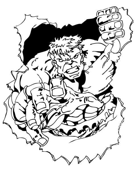 incredible hulk coloring pages only incredible hulk