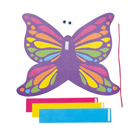butterfly paper chain craft kit trading