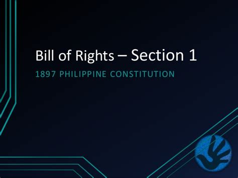 Polsc2 12 Bill Of Rights Section 1