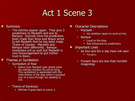 themes of macbeth in act 1 themes of macbeth in act 1 macbeth act 1 notes