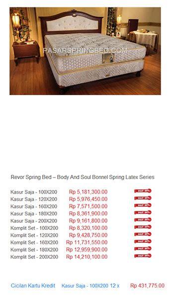 Kasur Bed Di Lung harga bed kasur termurah di indonesia toko