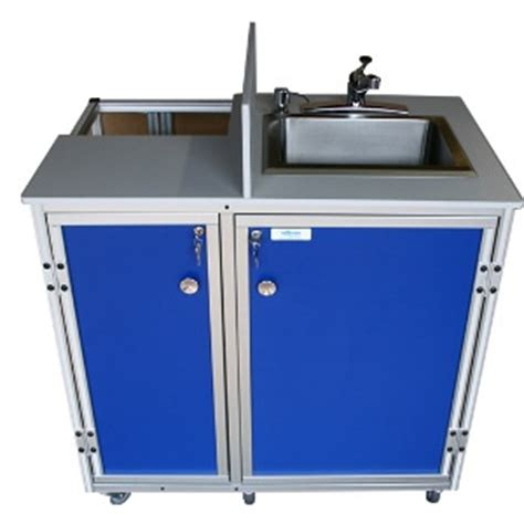 portable shoo sink cold water propane powered self contained sink