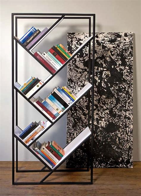 1000 ideas about modern bookcase on revolving