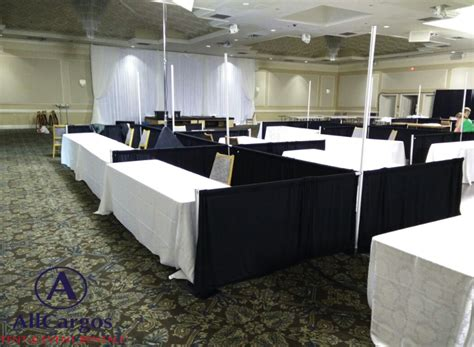 pipe and drape rental toronto allcargos tent event rentals inc trade show booths