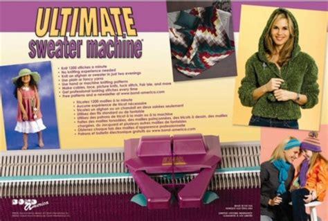 ultimate knitting machine cool tool bond america s usm ultimate sweater machine