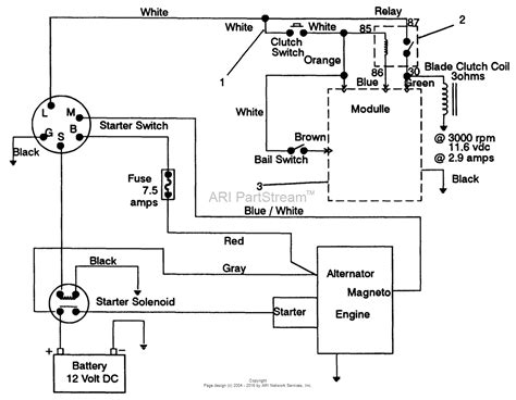 electric start generator wiring diagram how does a