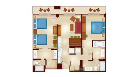 2 bedroom villa copper creek villas cabins dvc resales point charts