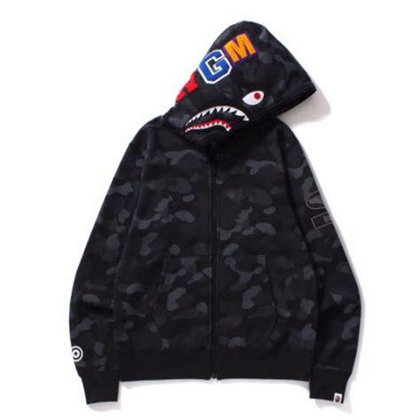 Bape Shark Custom Casing Xiaomi Samsung Dll bape dot camo shark wide zip hoodie black s fashion clothes on carousell
