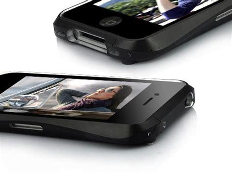 Iphone 4 4s Bumper Aluminium Cover Armor Casing Hardcase Keren aluminium metal bumper voor iphone 4 4s