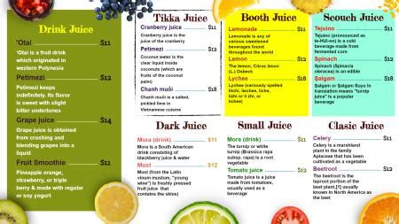 Restaurant Digital Signage Menuboard Digital Juice Templates