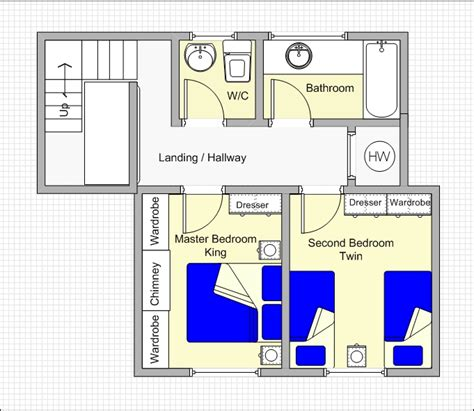 upstairs floor plans oaktree cottage norfolk cottage floor plans