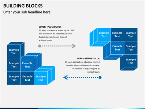 Building Blocks Powerpoint Template Sketchbubble Building Blocks Template