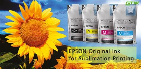 Dijamin Fast Print Textile Dtg Yellow 1000 Ml epson sublimation ink pack with chip for digital textile printing