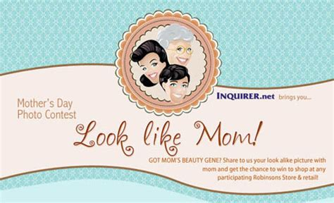 Mother Day Contests And Giveaways - mother s day photo contest philippine contests and promos