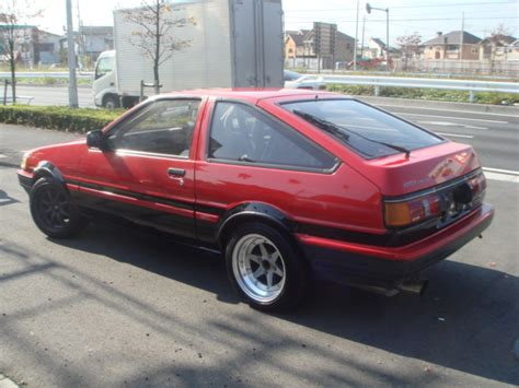 Toyota Corolla Gt For Sale In Japan 1987 Toyota Corolla Fx16 For Sale Autos Post