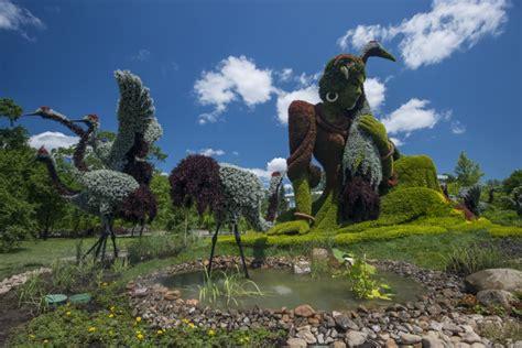 sculture giardino montreal giardino di verdi sculture