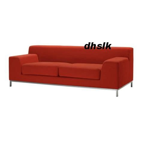Ikea Kramfors 3 Seat Sofa Slipcover Cover Myrby Red 3 Seat Sofa Slipcovers