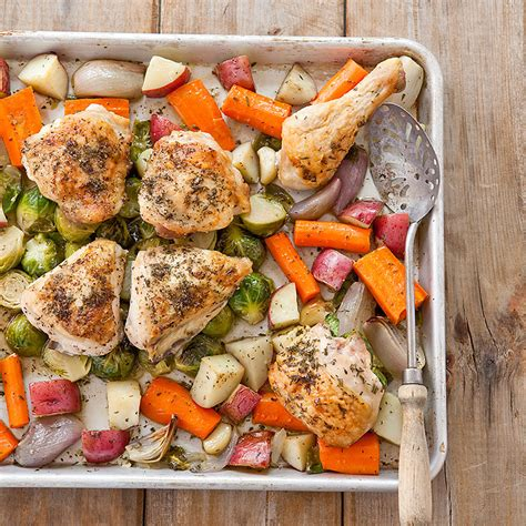 roast chicken root vegetables one pan roast chicken with root vegetables