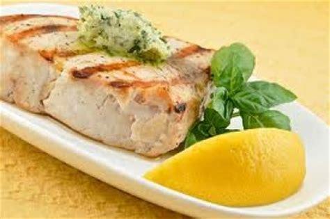 broiled swordfish with mustard sauce jambalaya rice and caramelized carrots