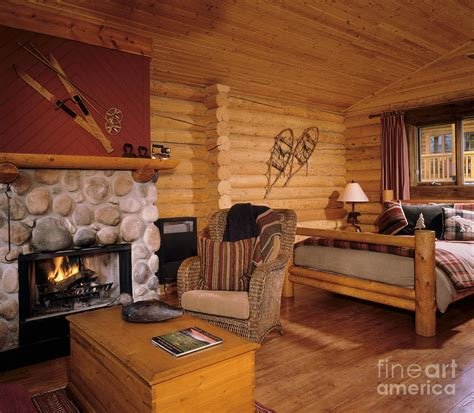 log cabin homes interior resort log cabin interior photograph by robert pisano