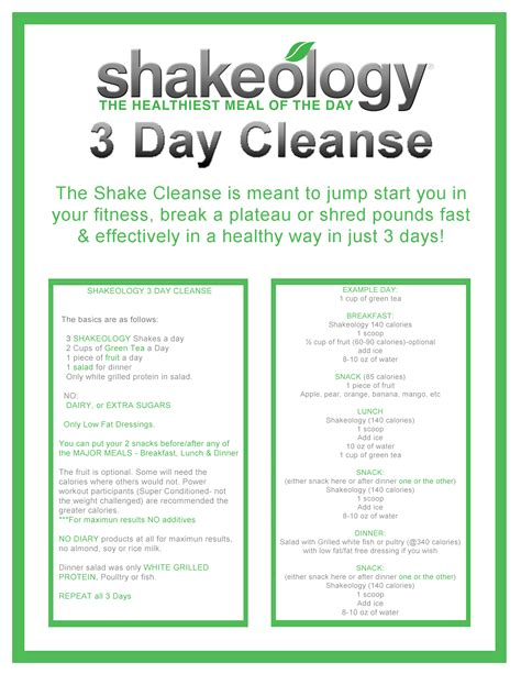 Fruit Flush 3 Day Detox Results by Shakeology 3 Day Cleanse Fit Tina
