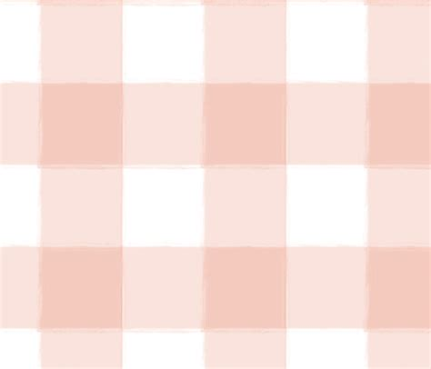 watercolor check pattern large blush pink buffalo check gingham fabric sugarfresh