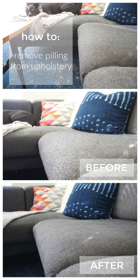 sofa pilling you can go shave your couch now how to remove pilling