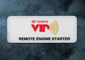 Remote Starter For Toyota Toyota Canada Gt Options Accessory Pricing