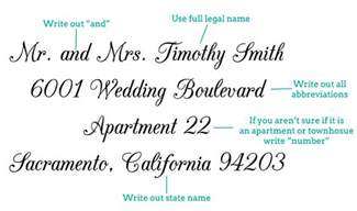 how to properly address wedding invitations addressing wedding invitations lilbibby