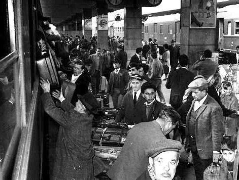 emigrazione interna italiana l emigrazione italiana interna negli anni 50 e 60