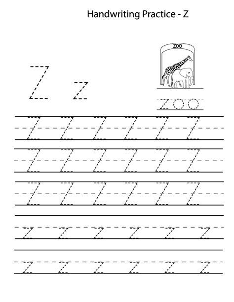 kindergarten alphabet tracing worksheets fun loving worksheets letter z worksheets atidentity com free