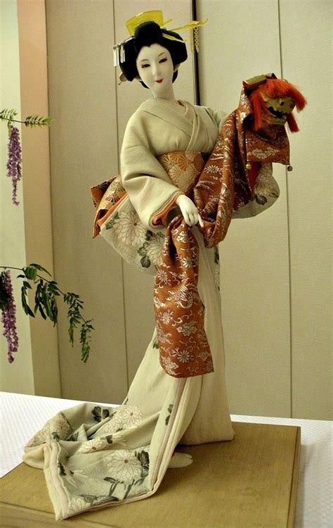 doll fashion in japan local fashion beautiful japanese dolls in traditional dresses