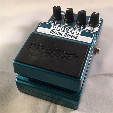 Digitect Digital digitech digiverb digital reverb pedal reverb