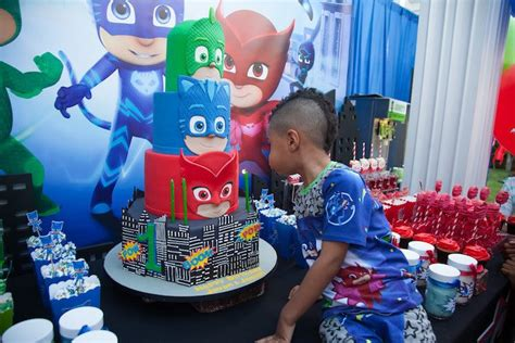 Kara's Party Ideas PJ Masks Superhero Birthday Party