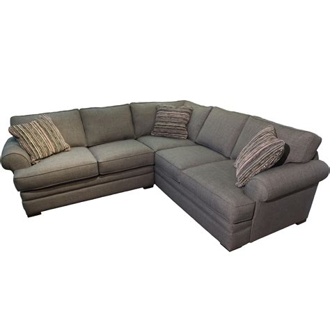 jonathan louis sectionals jonathan louis hermes casual sectional with sock rolled