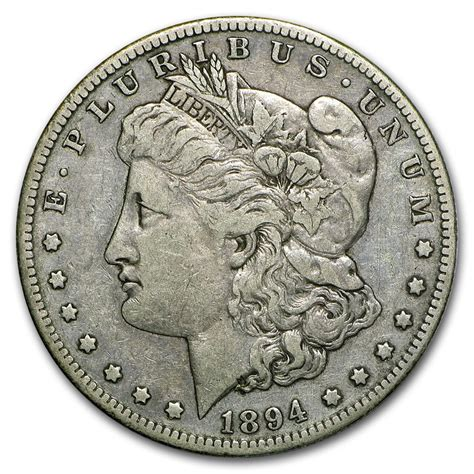 1894 s silver dollar 1894 s dollar xf silver coins and bars