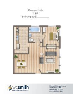 one bedroom apartments in dc floor plans small homes on pinterest bedroom floor plans