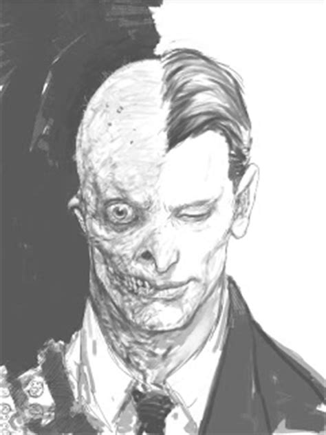 Freaky Unseen 'The Dark Knight' Concept Art By Rob Bliss
