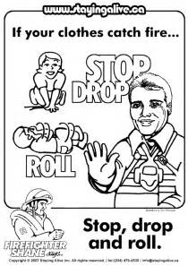 fire safety coloring books staying alive kids colouring pages