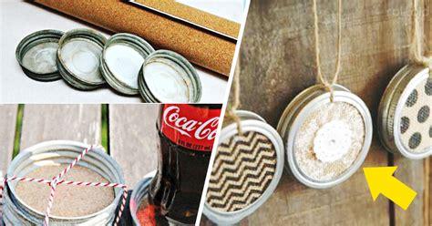 como decorar las tapas de los frascos de mayonesa 8 incre 237 bles formas de utilizar y reciclar las tapas de