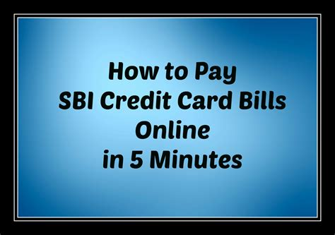 How To Use Sbi Gift Card - how to pay sbi credit card bill online in 5 minutes