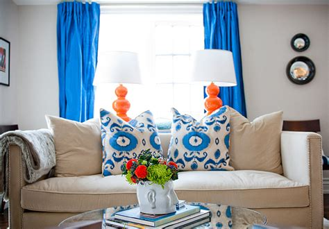 cobalt blue living room cobalt blue curtains contemporary living room design