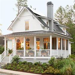 Farmhouse Wrap Around Porch by Farm Style With Wrap Around Porch Gant Custom Homes