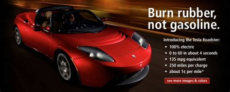 Tesla Electric Car History Tesla Motors Electric Car
