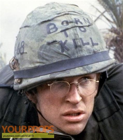 full metal jacket private jt joker daviss helmet