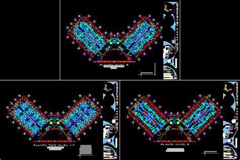 star hotel  dwg design block  autocad designs cad