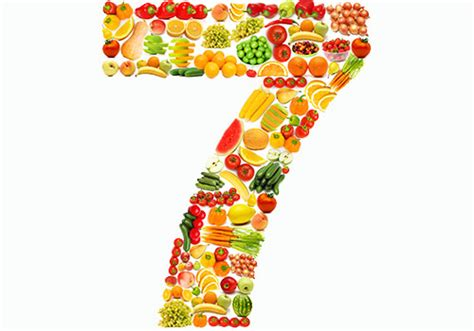 7 fruit and veg a day how to get your 7 a day food