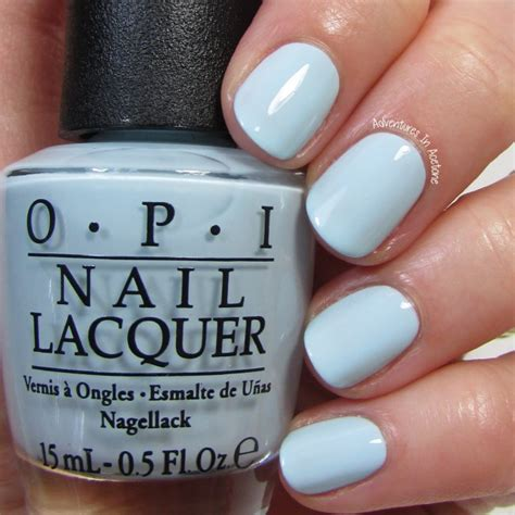 opi light blue colors opi it s a boy this baby blue is a true bundle of i