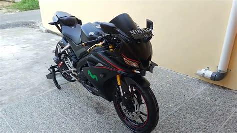 Leher Yamaha New R15 Vva V3 Stenlis modified new yamaha r15 v3 0 vva tapi kerenn