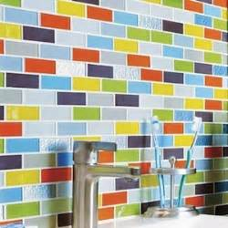 colorful tiles wednesday inspiration glass installations